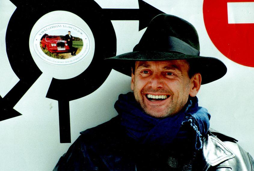 Der Veranstalter Dieter Scholz
