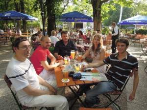 Vorbesprechung beim Alten Wirt in Ramersdorf am 30.6.2012