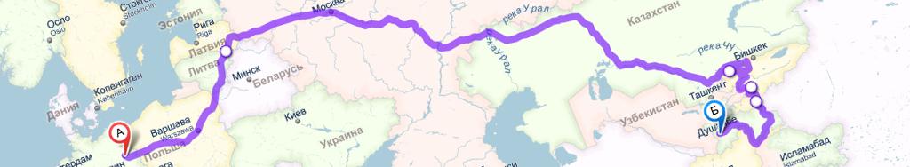 Rallye München – Rußland – Himalaja