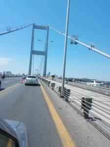 Stambul, 1.Bosporusbrücke
